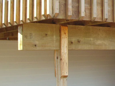 Wood Post And Beam Connection