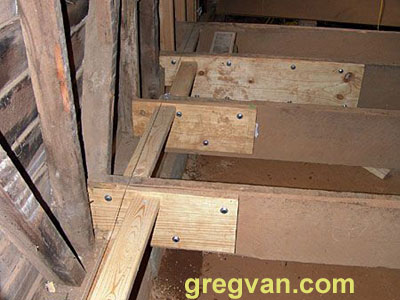 Floor Joist End Repairs