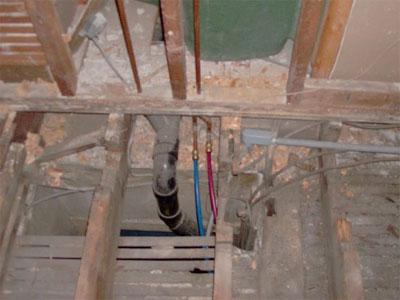 Floor Framing Plumbing Problem