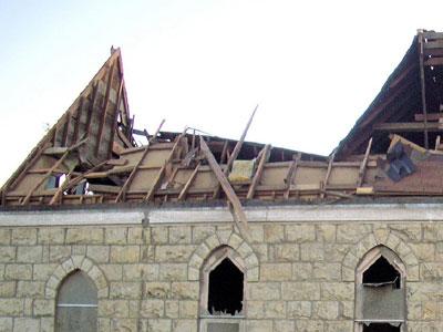 Roof Framing Repairs