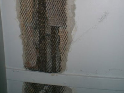 Exposed Wall Wire Mesh