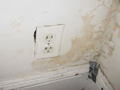 Wall Damage Around Outlet